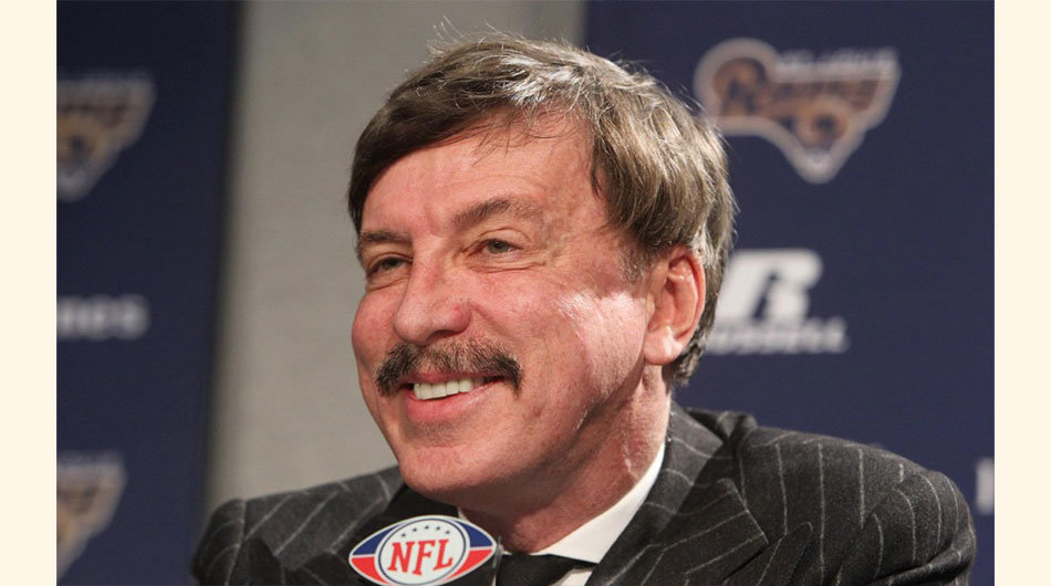 3. Stanley Kroenke. 7,700 millones de dólares. Kroenke Sports Enterprises es propietaria de los Denver Nuggets (NBA), la Colorado Avalanche (NHL), los Colorado Rapids (MLS), los Colorado Mammoth (National Lacrosse League), y Los Angeles Rams (NFL). Accionista mayoritario del Arsenal de Inglaterra.